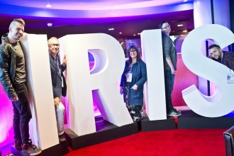 Iris Prize Best British Jury_QFN member Helen Wright is second right