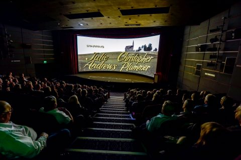Audiences watch The Sound of Music at Widescreen Weekend 2019