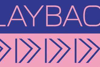 playback festival logo